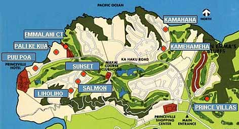 Map Of Cozumel Top Kauai Hotels And Lodging Finding The Best Resorts On