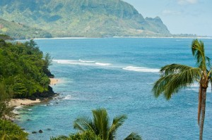Beautiful View of Princeville Ocean