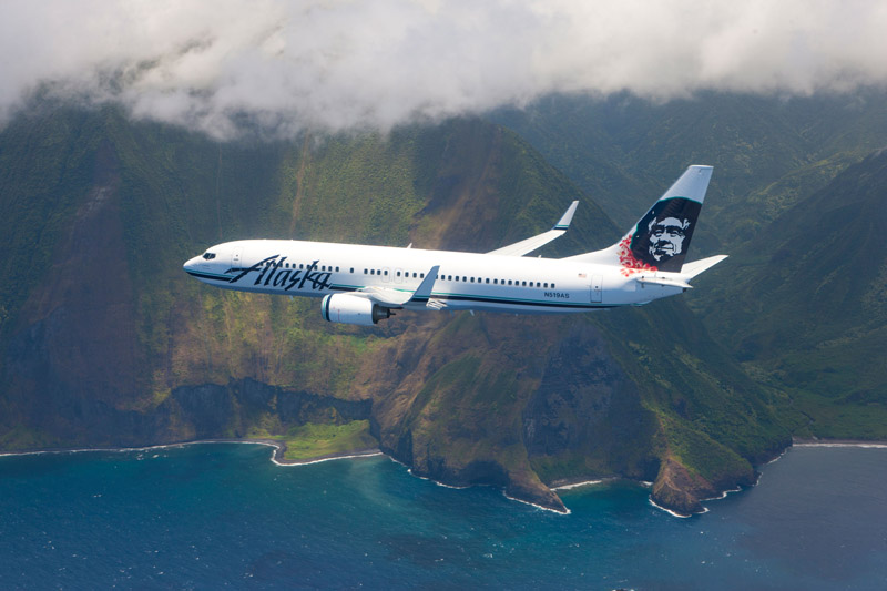 Alaska Airlines Flies Non Stop to Lihue Kauai from several major US mainland cities.