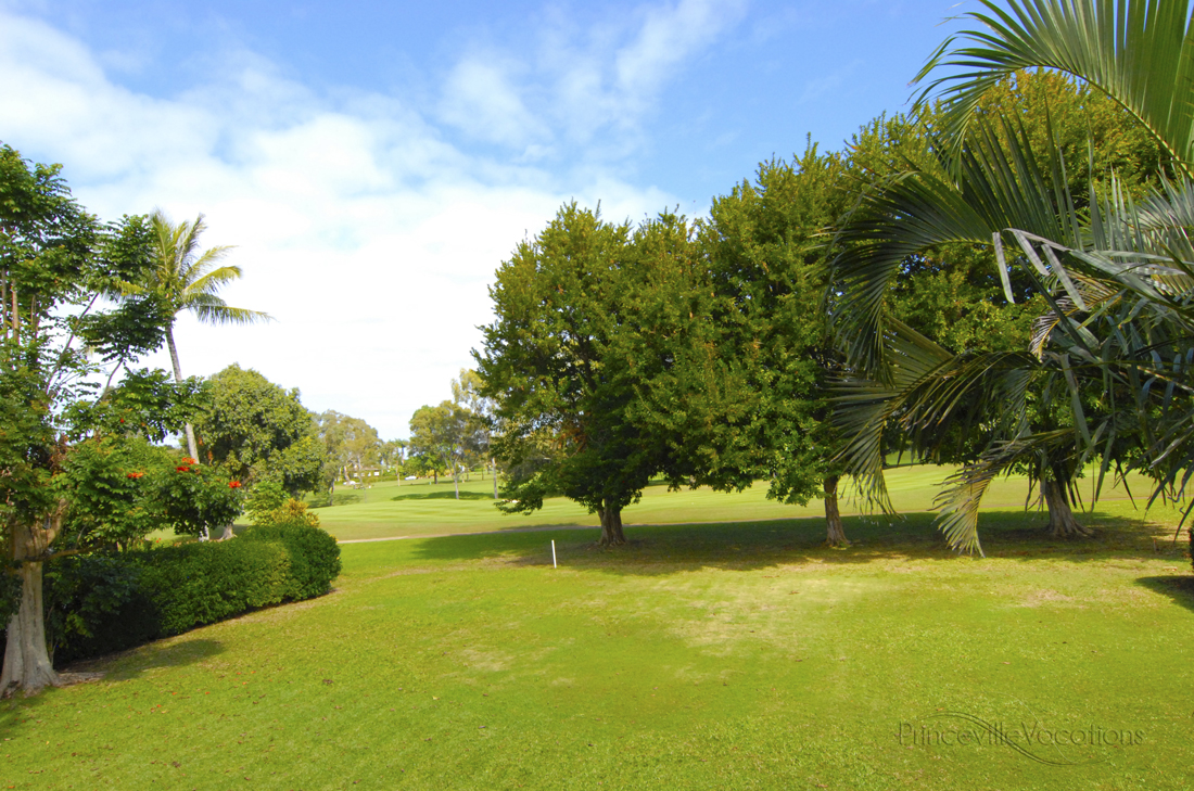 Princeville-Vacations.Sunset.golf.course.view
