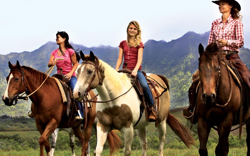 Kauai Vacation Adventure Tour Horseback Riding